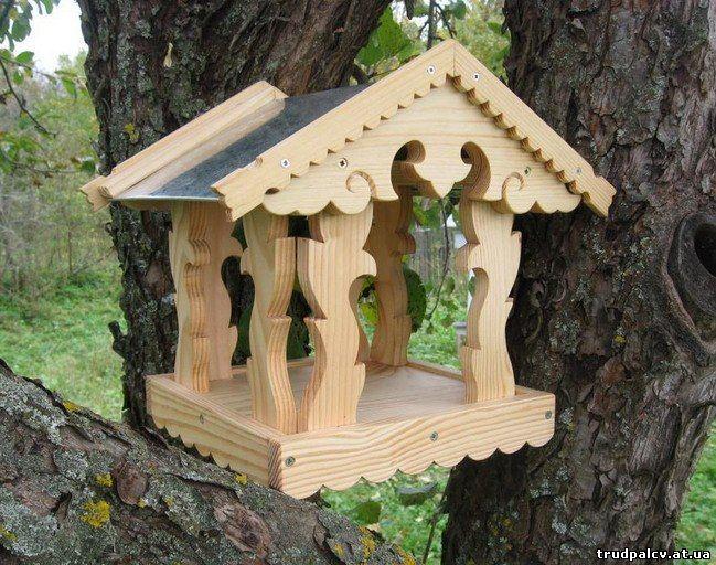 Из дерева своими руками птиц